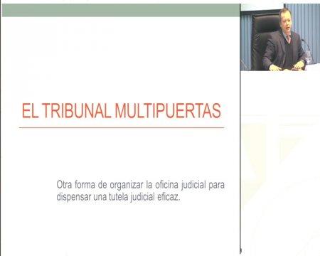 O tribunal multiportas ou outra forma de organizar a oficina xudicial como mecanismo para dispensar unha tutela xudicial eficaz  - Xornada sobre as posibilidades de mediación nas relacións entre os cidadáns e as Administracións públicas